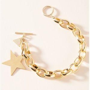 Anthropologie Gold Bracelet